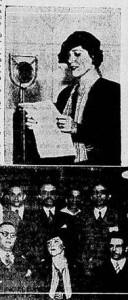 Natércia da Silveira fala em programa de rádio. [Origem: Gazeta de Notícias, 22/9/1935; hemerotecadigital.bn.br]
