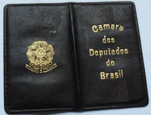 Carteira de Deputada Federal [Origem: Museu Nacional/Projeto Semear]